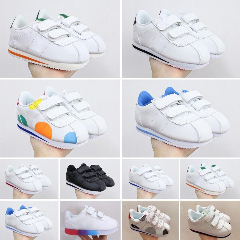 2021 Cortez Schuhe Herren Womens Casual Kinder Turnschuhe Athletisches Leder Original Ultra Moire Walking Sale 22-35