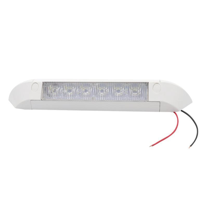 1.6 W 6 LED'ler IP67 Su Geçirmez Açık Sundurma Tente Spot Araba RV Gemi (Beyaz) ATV Parçaları Için