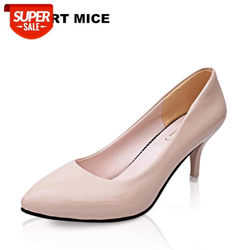 2019 mulheres apontou toe saltos altos moda sapatos sexy bombas casamento negócio trabalhando mulher zapatos mujer # zj6d