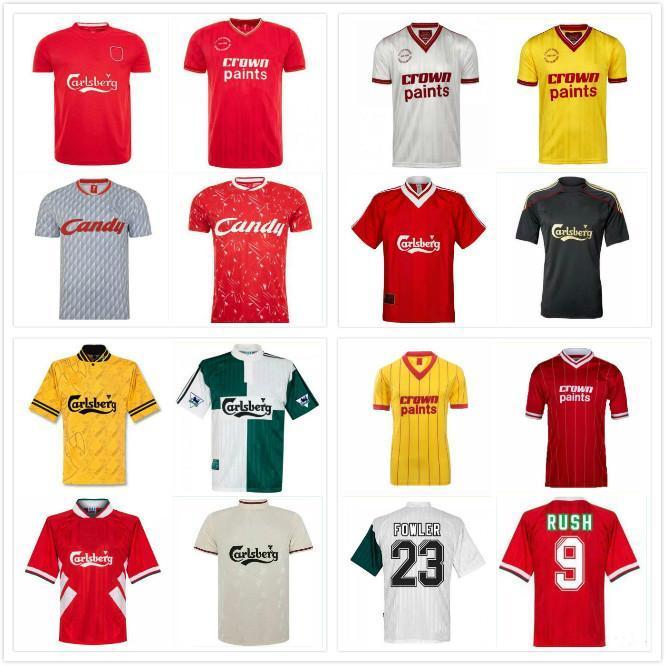 1993 1995 Barnes Rush Clough Redknapp Fowler Stewart Retro Futbol Forması 93 94 95 Nicol Mcmanaman Fowler Klasik Futbol Gömlek