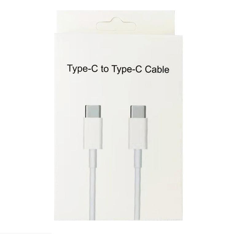 Höghastighet USB-C för att skriva C-kablar Snabb Laddning USB C Typ-C Datakabel Laddare för Samsung Galaxy S21 S20 S10 Not 20 Xiaomi 7 8 9 10 11 Universal Mobile Android Telefon