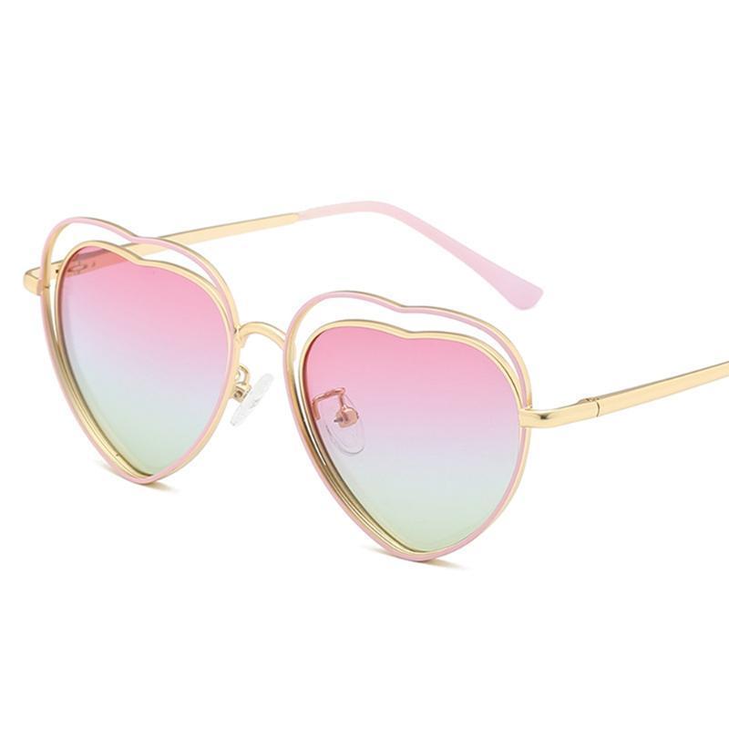 نظارات شمسية فتاة استقطاب نظارات UV400 رمادي أزرق أسود وردي JDA3316