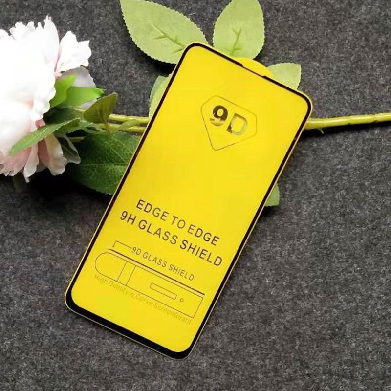 9D Закаленные защитные Очки для Xiaomi Redmi K40 ПРИМЕЧАНИЕ 8 9 10 PRO MAX 9S 10S 10x 4G 5G PLUS Полная пленка