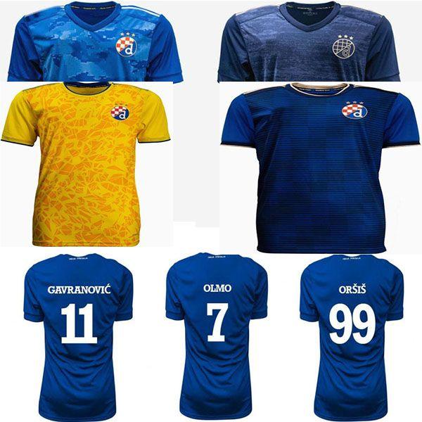 Alta Qualidade2021 2022GNK Gojak Kadzior 2021 Nogometria Klub Dinamo Zagreb Homens Futebol Camisas