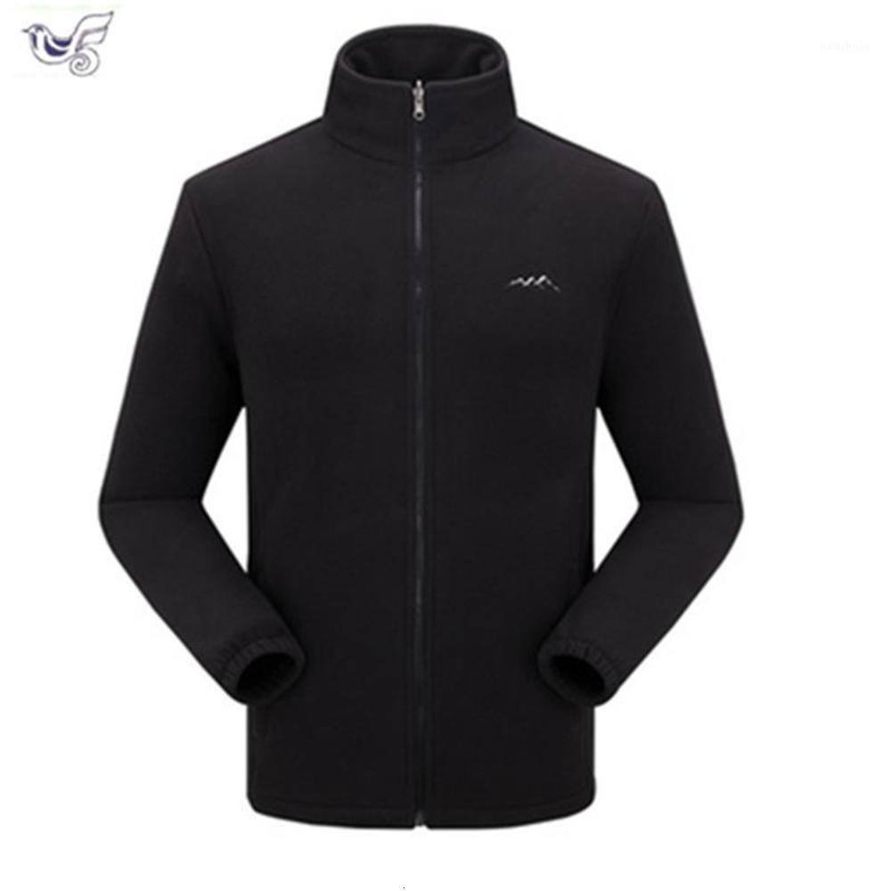 가을 관광 산 코트 남자 육군 재킷 outwear 윈드 브레이커 열 스포츠 남성 남자 양털 전술 Softshell Jacket1