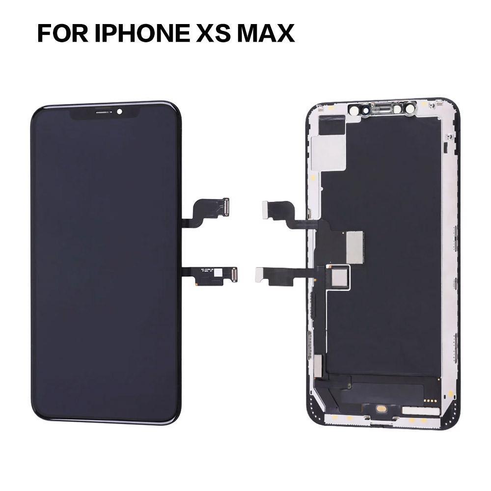 10 adet Yüksek Kalite A + + + LCD OLED Ekran Dokunmatik Ekran Panelleri Digitizer Meclisi Yedek Parçalar Için iPhone 11 Pro Max X XS XR ile Kutusu Kılıfı Ücretsiz DHL 12