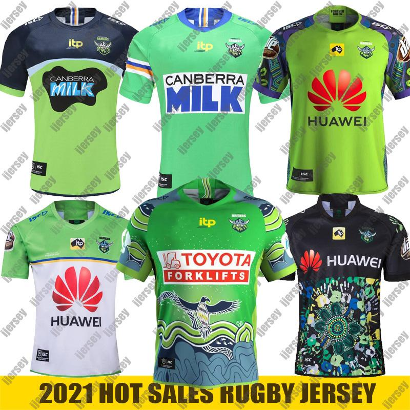 2021 Canberra Rugby Jersey Nines Jersey Nrl Rugby League Jerseys 2019 2020 Canberra Assulture Super Jersey de rugby Taille: S-5XL