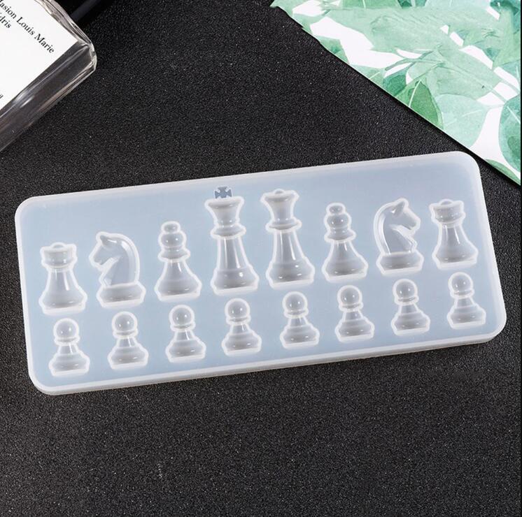 Moule en silicone pour la résine Internationale Shase Silicone Silicone Résine Epoxy en résine Epoxy Résine Pendentif Moules pour bijoux Ju0600