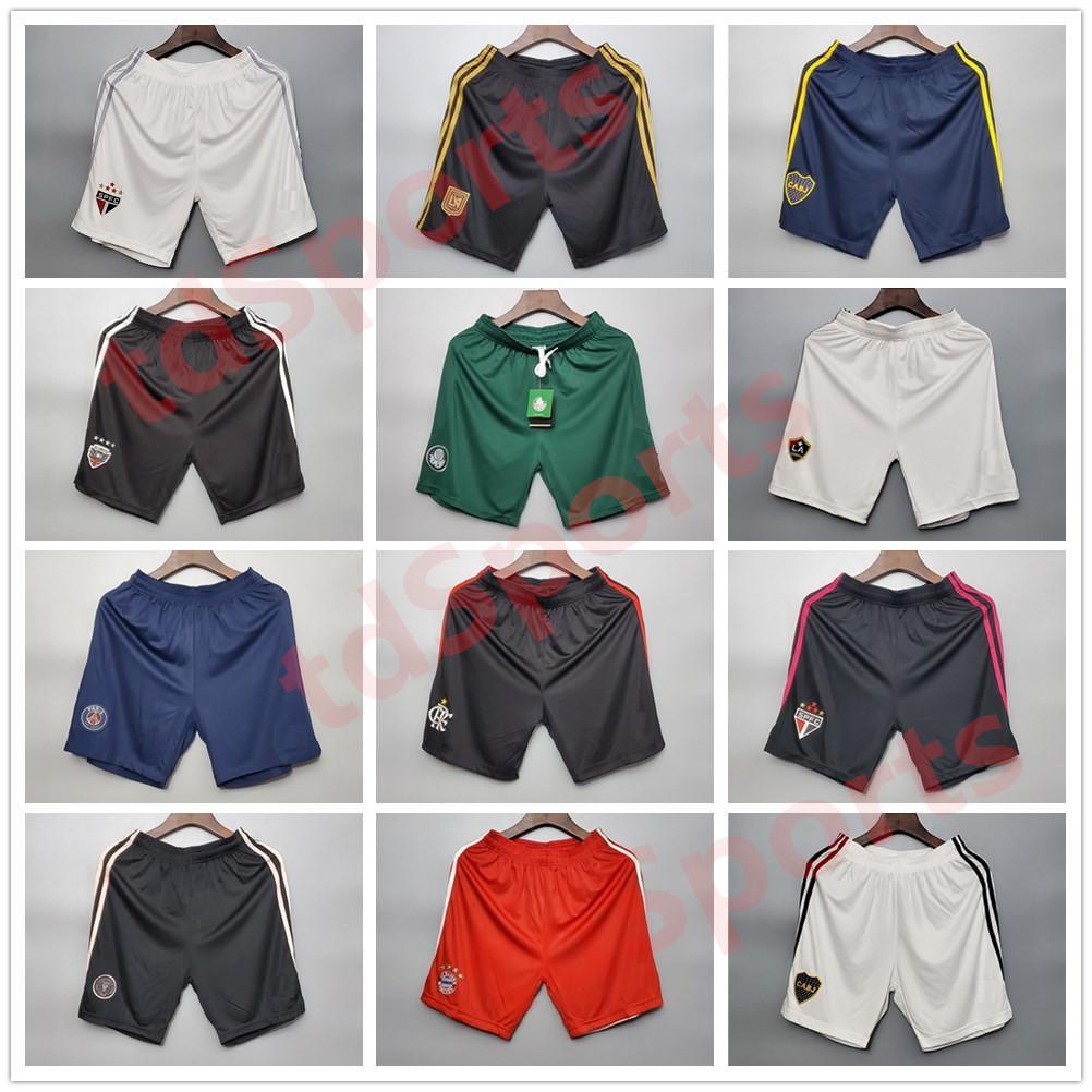 20 21 Club Paris Soccer Sports Running Shorts 2021 السراويل Haaland Football de Fútbol Boca Gnabry