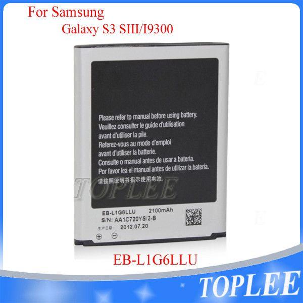 جودة عالية بطارية EB-L1G6LLU لسامسونج غالاكسي S3 I9300 I747 L710 I9308 T999 I9305 M440S I9082 استبدال البطاريات
