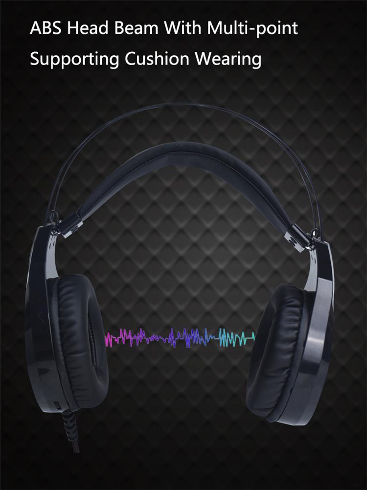 Fabrika Doğrudan Tedarik OEM Kulaklık Oyun Kulaklık TSD-GHP1001 Headphones Harici Mikrofon ile Maxell Kulaklıklar Vife Kulaklık