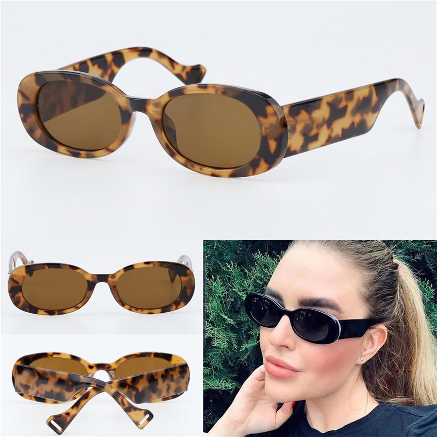 Sunglasses ovales design Hommes Femmes Vintage Shades Conduite de lunettes de soleil polarisées Lunettes de soleil Mâle Mode Métal Plank Sunglas Eyewear