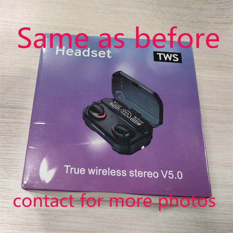 Fones de ouvido sem fio Chip transparência Metal Renomear GPS Wirless Earbuds Carregando Bluetooth Fones de ouvido Geração In-Aure Detecção para celular