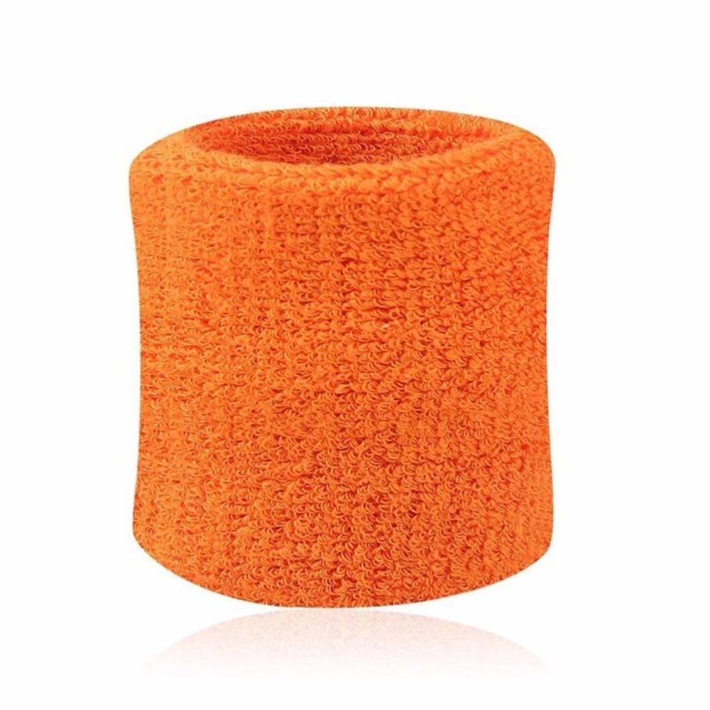 Artículo No 180 Colorido Algodón Unisex Deporte Sweatband Pulsera Protector de pulsera Running Badminton Baloncesto Braace Terry Número 820