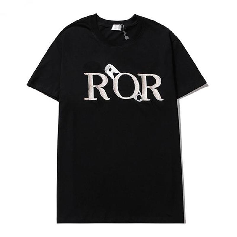 21SS New Mens стилист футболка мужская одежда 3D летняя футболка хип-хоп женщины с коротким рукавом роскошь дизайнер одежда дама повседневная тройник