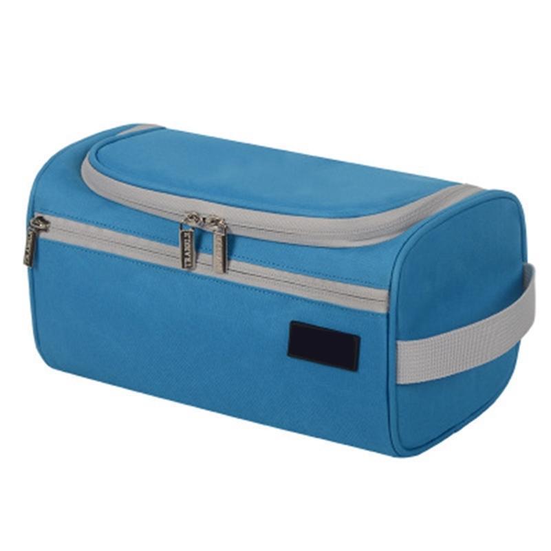Bolsa de aseo de nueva capacidad de viaje Viaje a prueba de agua Maquillaje Organizador Bolsa de almacenamiento de bolsas de almacenamiento 210322