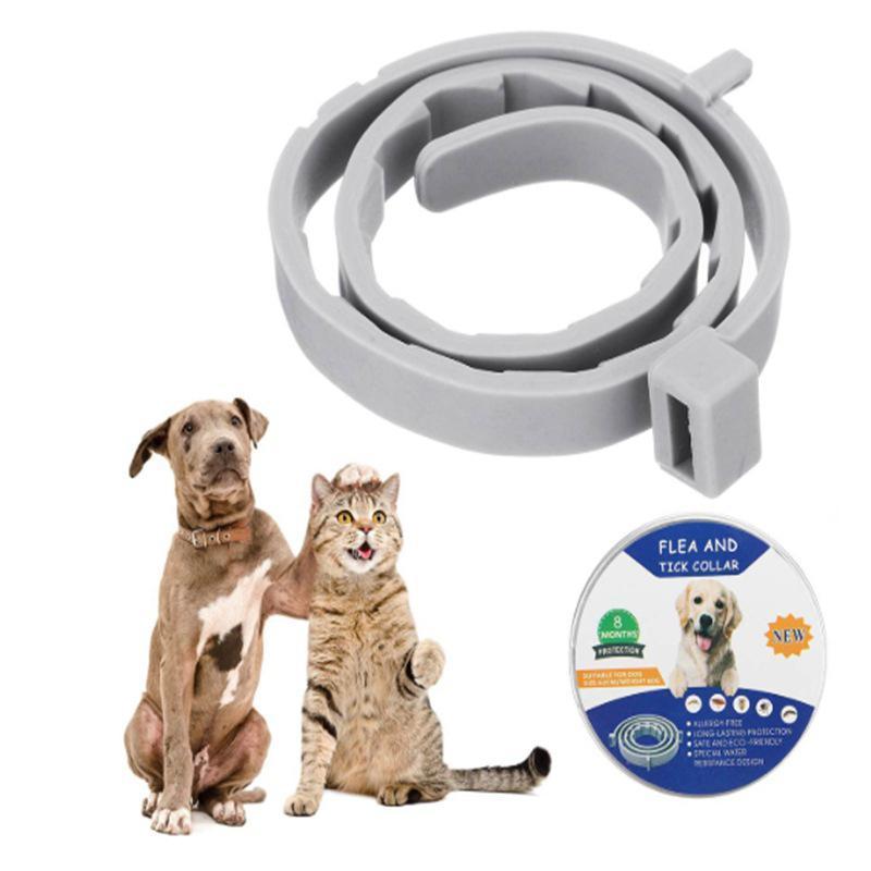 Colares Coleiras de Cão AAPET 1 PC PET Anti-Lice Collar Cat Flea Anti Colar Para Gatinho Proteger De Piolhos Mites Mosquitos Insetos