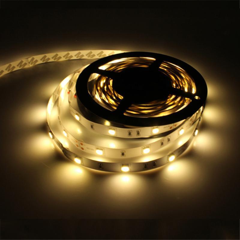 30LED / 5M DC12V LED-Streifen-Licht Nicht wasserdichter Band RGB, weiß, warmweiß Weihnachtsdekoration CA111-Streifen
