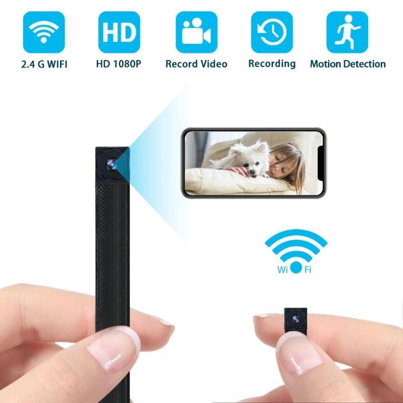 Mini-Kameras-Kamera-WiFi 4K 1080P-Video-Recorder drahtlose Nachtsicht-IP-Modul tragbare Camcorder Micro