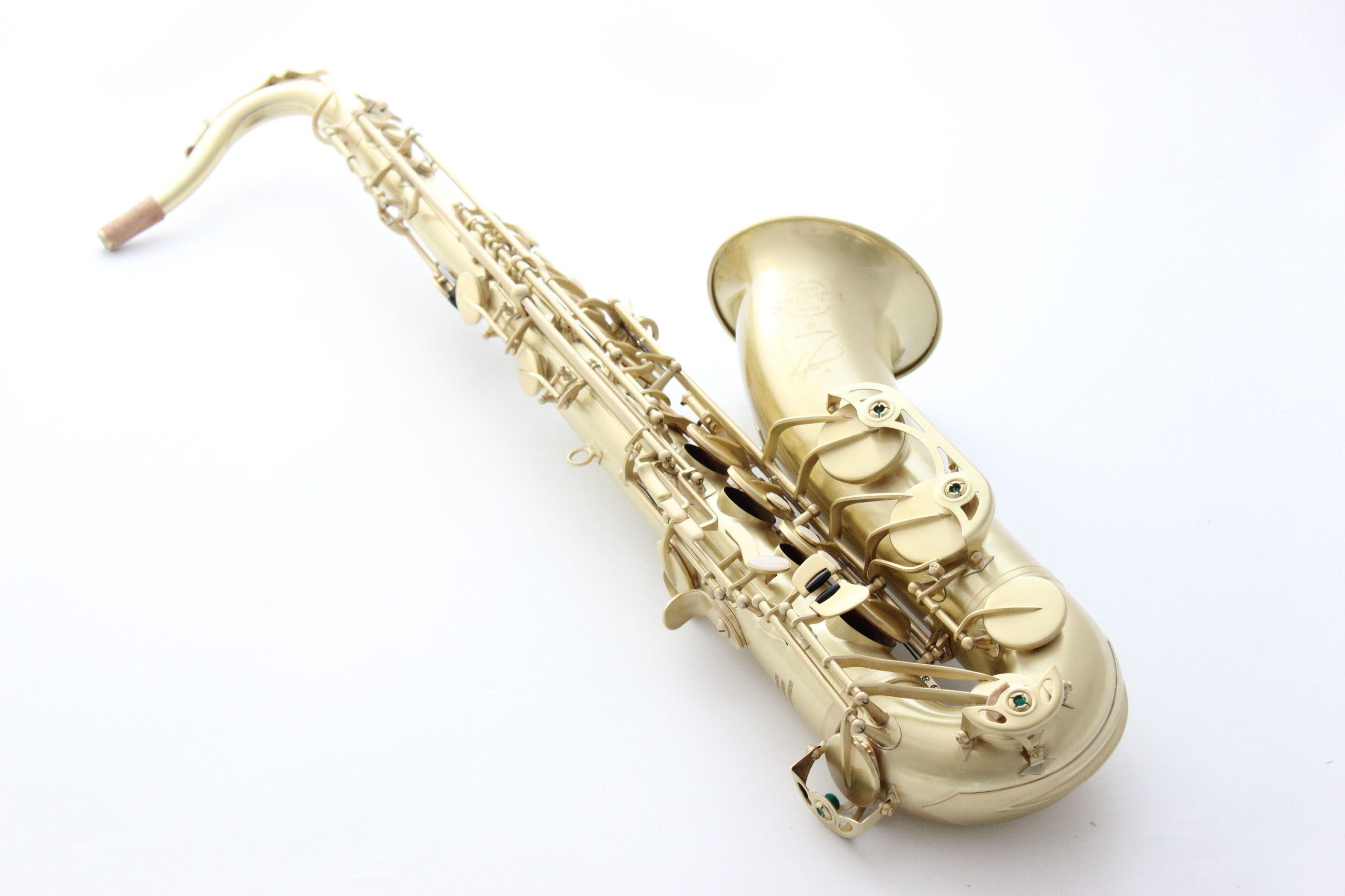 Matte Finish STS-R54 테너 색소폰 프랑스어 Selma B-Flat SAX Professional BB 참조 54 Saxofón Case