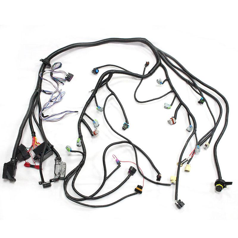 Gen4 LS2 LS3 58X Electronic Engine Fuel Injection Wiring Harness DBW With 6L80E OR 6L90E