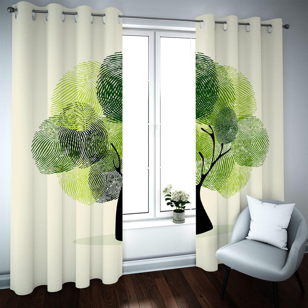 Большие 3d деревовые занавески для гостиной спальня китайский стиль занавес