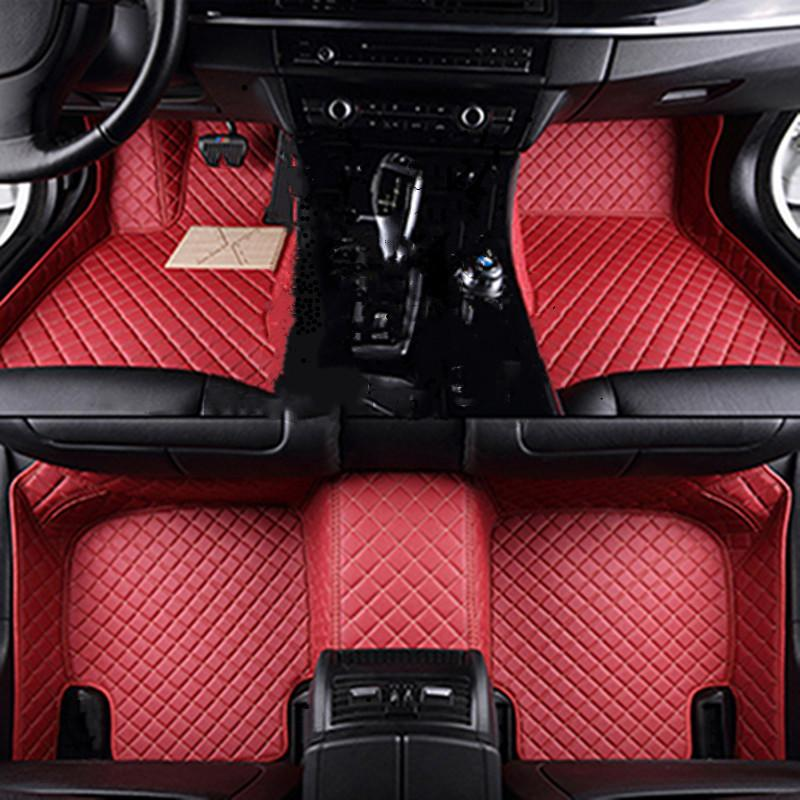 벤츠 ML 클래스 사용자 정의 자동 발 패드 용 자동차 바닥 매트 자동차 카펫 커버 DG GTH Egrth RTGRT