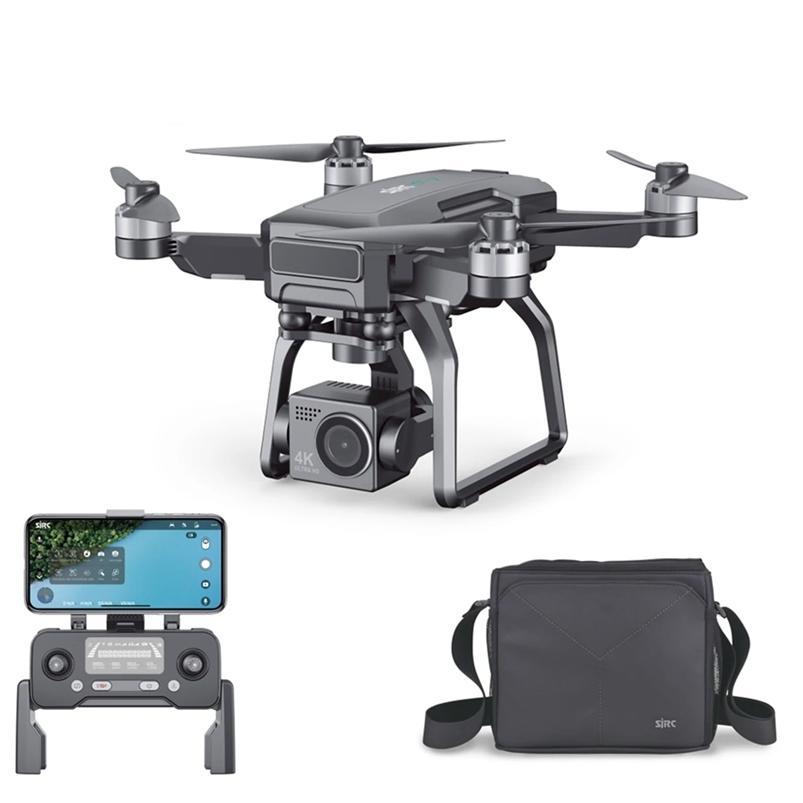 CEVENNESFE F7 PRO 4K drone 5G WIFI 3km FPV GPS avec caméra HD Caméra à 3 axes Candat mécanique 25mins Temps de vol Temps de vol RC drones 210726
