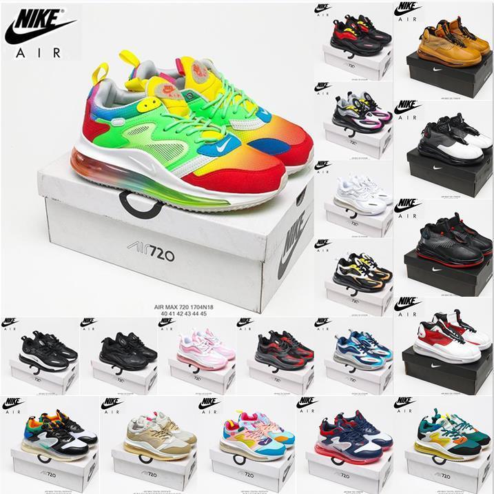 Nike Air Max 720 Horizon Running Shoes Airmax 720S Palm Cushion Trainer Future Series Betrue Upmoon Jupiter Venus Panda Runner para Homens Mulheres Sports Sneakers