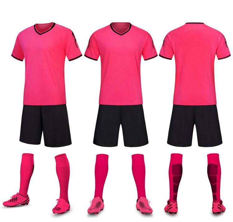 Soccer Jersey Zestawy piłkarskie Kolor żółty zielony różowy szary beżowy 57239