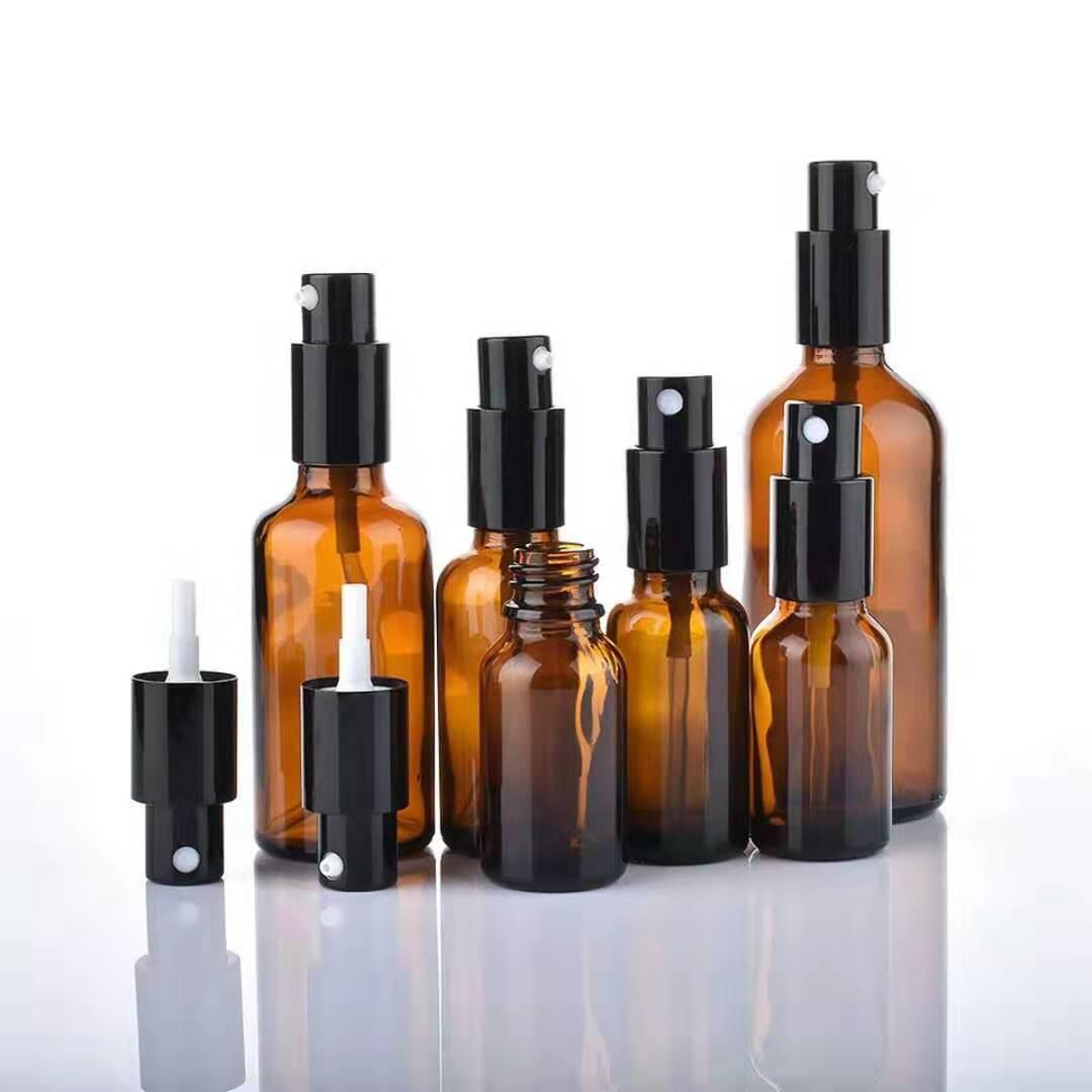 Vente en gros bouteilles de pulvérisation de parfums d'huile d'huile d'ambre d'ambre avec pulvérisateur de pulvérisateur de pulvérisateur / de lotion, 5ml-100ml