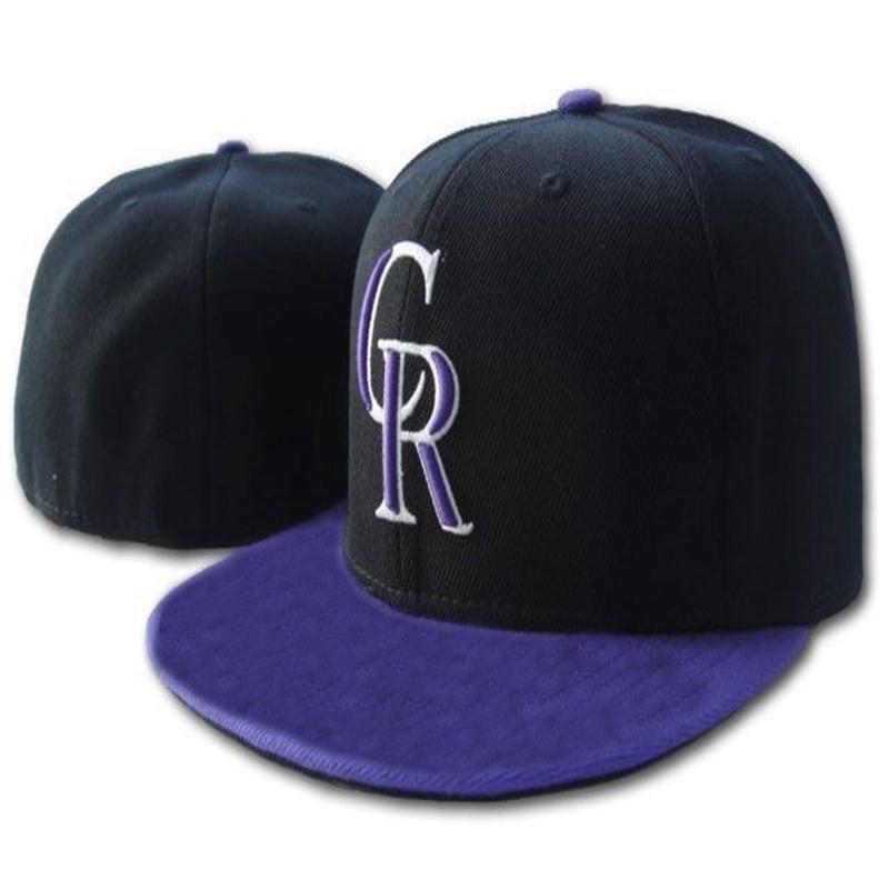 Rockies Cr رسالة قبعات البيسبول casquettes كابوس للرجال النساء الرياضة الهيب هوب الأزياء العظام تركيب القبعات