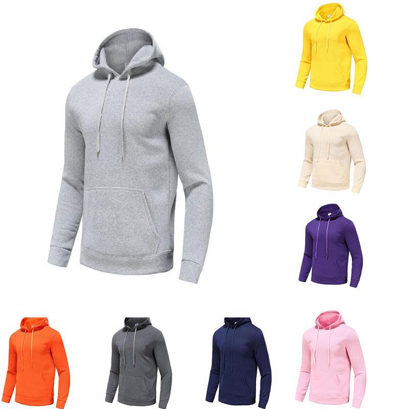 Marca Hoodie Pullover Unisex Sportswear Alta Qualidade Leve Velo Camisola Fashion Casual Street Street Tamanho S-3XL