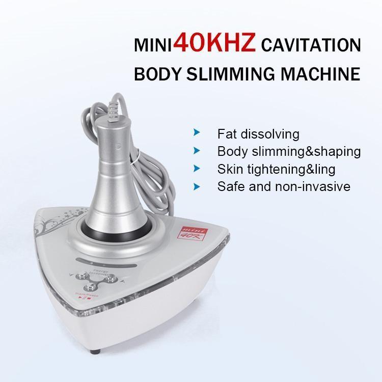 2021 Taibo الجمال بالموجات فوق الصوتية مصغرة 40K تجويف الدهون حرق تشكيل آلة تدليك الجسم الوجه تشديد الجهاز