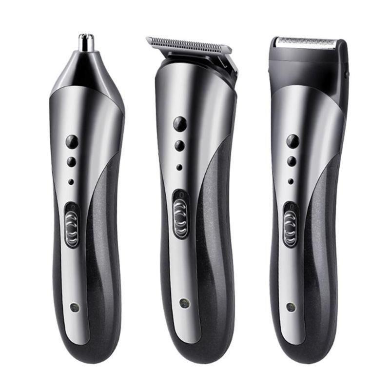 In 1 rasoio elettrico multifunzione trimmer ricaricabile per capelli naso barba clipper tagliatrice tagliata taglia pettini tagliatori
