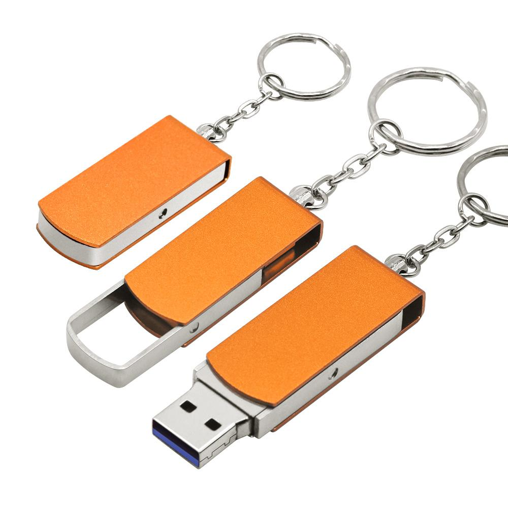 (50pcs Free Logo) Pen Drive Metal Pendrive 2.0 32GB 64GB 16GB 8GB High Speed Usb Flash Drives Memory Disk