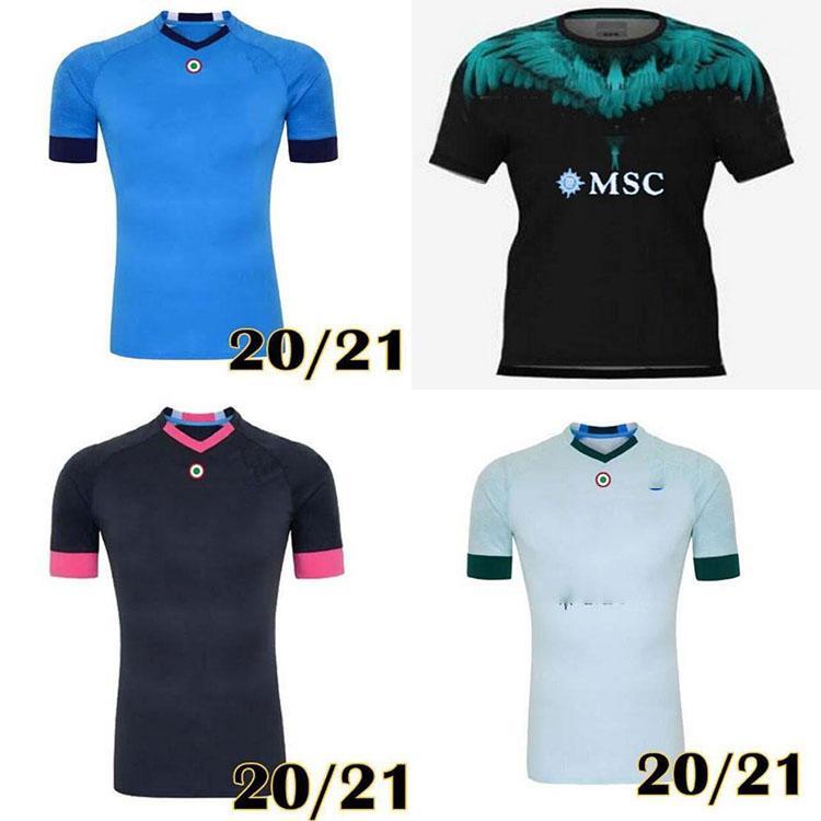 21 22 Napoli quarto tributo a Diego Maradona Jerseys Camiseta Insigne Mertens H.Lozano 2021 2022 Nápoles Futebol Camisas