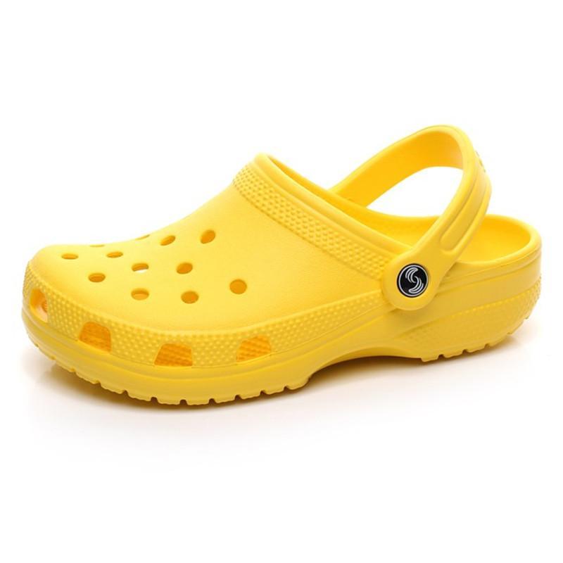 36-47 캐주얼 해변 오염 방수 신발에 패션 슬립 - 클래식 섹스 남성 클래식 간호 Clog 병원 여성 슬리퍼 의료 샌들 4