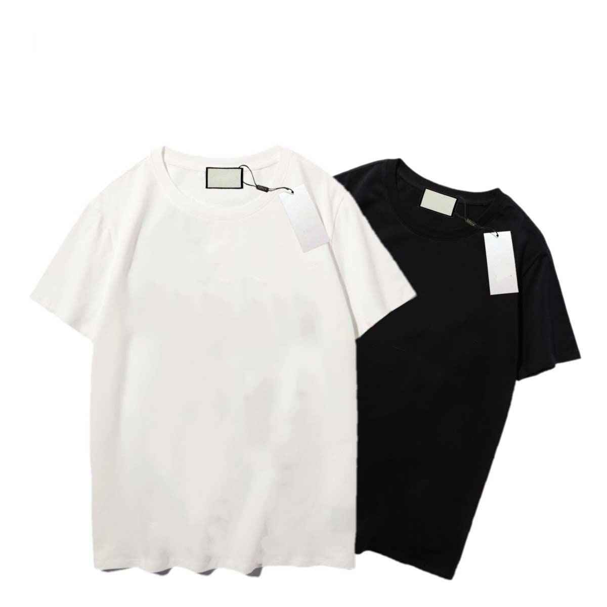 Mens Estilista Amigos Homens Mulheres T Shirt Alta Qualidade Preto Branco Orange Designer Roupa S-XXL