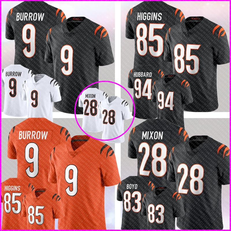 9 Joe Burrow Jersey 85 Tee Higgins 28 Joe Mixon Football 83 Tyler Boyd 94 Sam Hubbard aj. Green Austin Seibert 30 Ickey Woods Trey Hopkins Ken Anderson