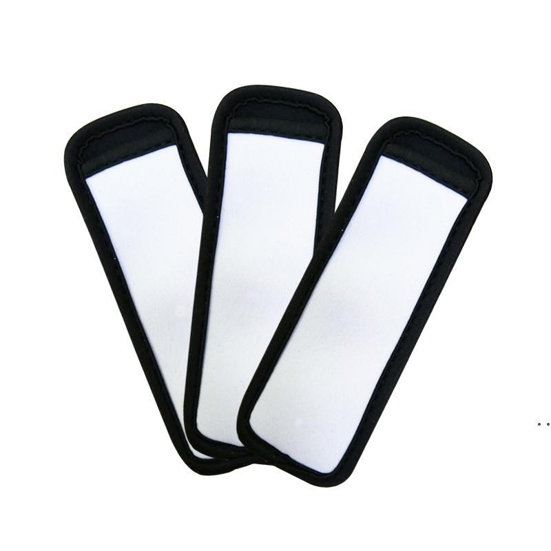 Eiscreme Werkzeuge Sublimation Leerer wiederverwendbarer Neopren-Popsicle-Halter Isolator-Hülsen Gefrierfach-Halter-Antifreezing-Hülsen-Taschen FWA5915