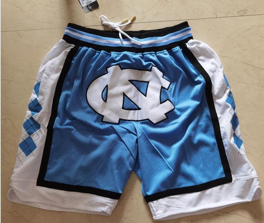 Бейсбольная команда просто Дона Каролина Цвет Короткие спортивные штаны Спортивные шорты Бедные поп-пастдики с карманными спортивными штанами NY NY NYSSY Blue Men NCAA Blue Color LA Размер 2XL брюки