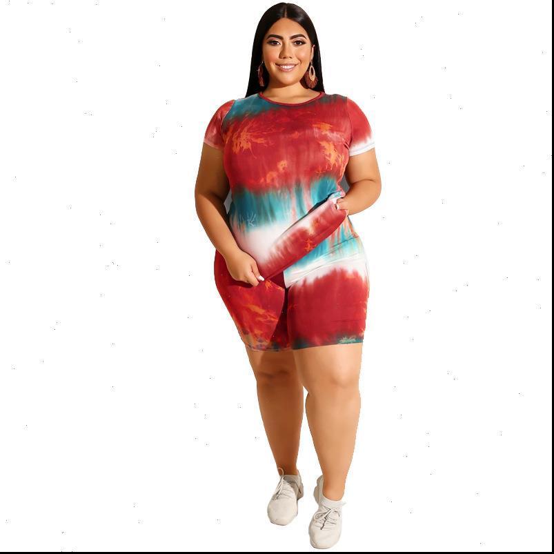 패션 섹시한 여자 tracksuits 여성 여름 세트 티셔츠 반바지 정장 여성 2 조각 복장 플러스 크기 Tracksuit 두 세트