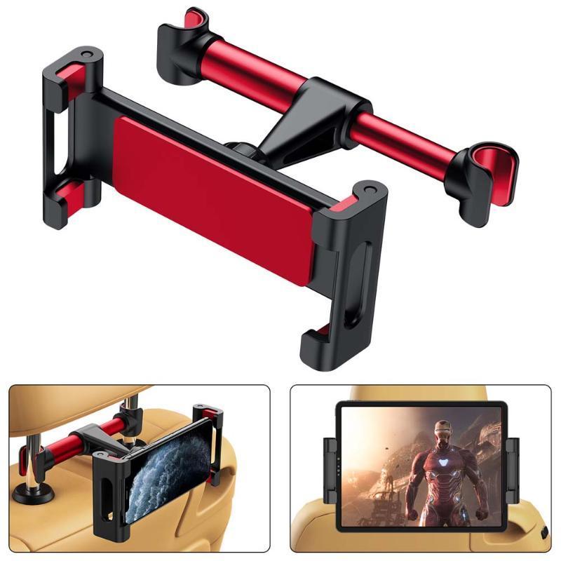 Carro traseiro assento de encosto de cabeça titular pad o telefone backseat montagem para tablet pc automático montar montas