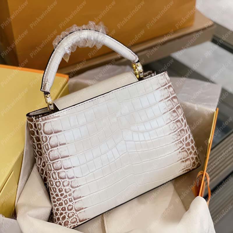 2021 Womens Handtasche Alligator Designer Frauen Umhängetaschen Handtaschen Luxurys Designer Taschen Totes Geldbörsen Crossbody Rucksack Tote 21031702l