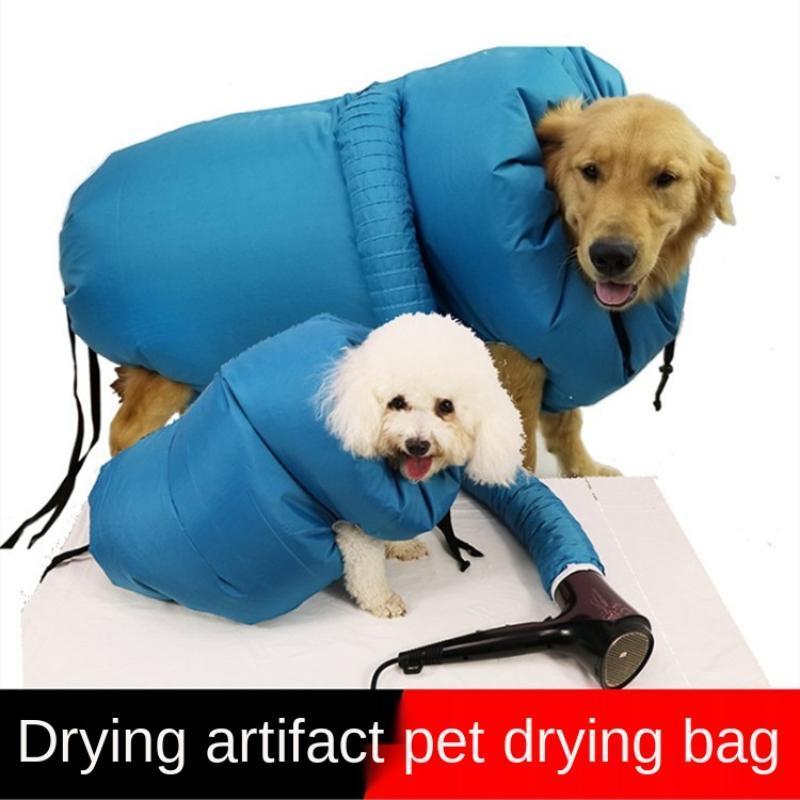 Hundebekleidung Trocknung Bäcker für Haustier Haartrockner Tasche Waschwasserkasten Katze Badewanne Artifact Baden und
