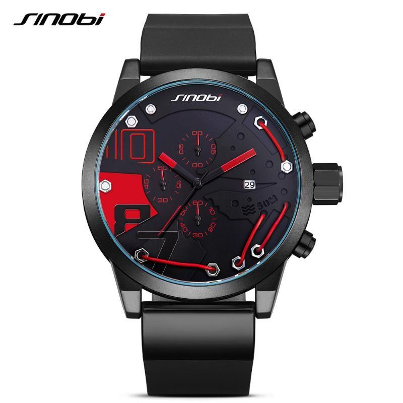 Relojes de alta calidad para hombres deportes de lujo cronógrafo reloj de moda a prueba de agua Relogio Masculino relojes de pulsera