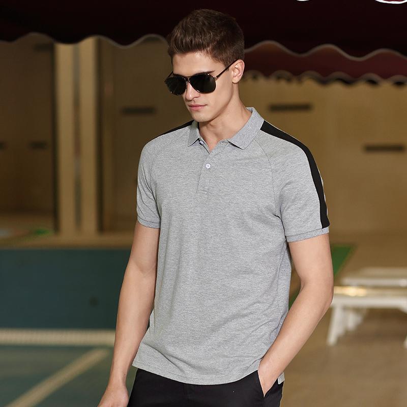 Regular acampamento pioneiro novo design polo camisa homens marca roupas casuais simples manga curta polo macho top qualidade algodão tendência