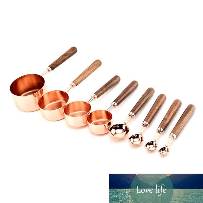 Cozinha Cozimento Copo De Medição Noz Modelo De Madeira Cobre Cobre Copos De Medição