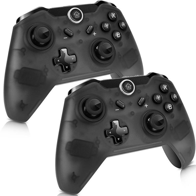 Bluetooth Wireless Pro Controller para NS GamePad Joypad Switch Remote Switch Mando Controladores de juego Joysticks
